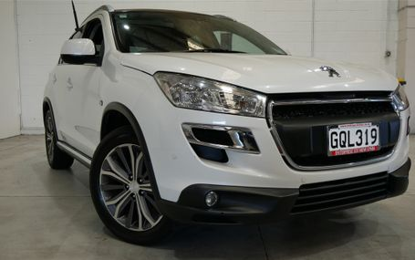 2012 Peugeot 4008 ALLURE NZ NEW Test Drive Form