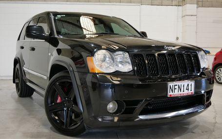 2010 Jeep Grand Cherokee SRT8 Test Drive Form