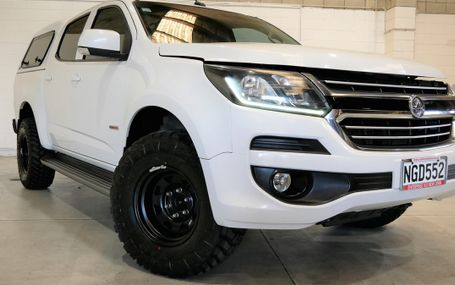 2016 Holden Colorado 4WD 2.8 DIESEL D/CAB F/LIFT Test Drive Form