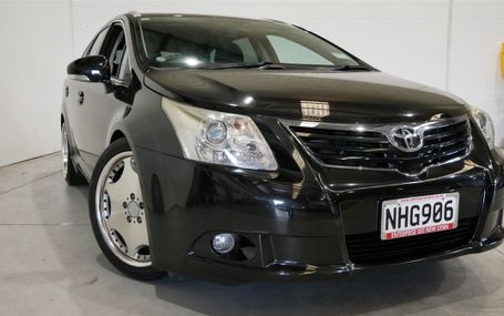 2012 Toyota Avensis XI 6 X AIRBAGS Test Drive Form