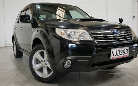 2008 Subaru Forester 4WD XT TURBO Test Drive Form