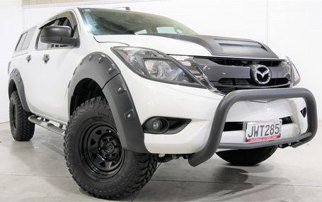 2016 Mazda BT-50 GSX D/C FLARES-MUDDIES-TOW BAR Test Drive Form