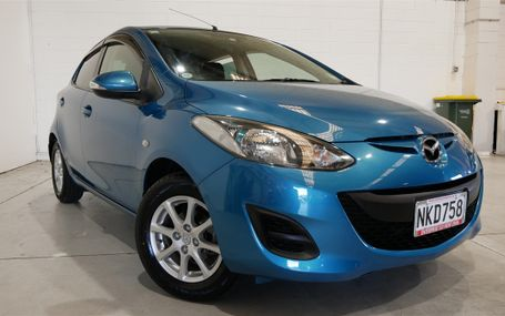 2011 MAZDA Demio SKYACTIVE GREAT COLOUR Test Drive Form