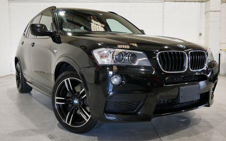 2013 BMW X3 M SPORTS X DRIVE 20D Test Drive Form