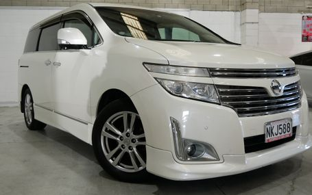 2011 Nissan Elgrand 250 HIGHWAY STAR Test Drive Form