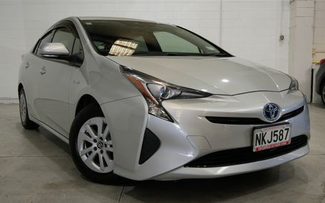2016 TOYOTA Prius S NEW SHAPE Test Drive Form