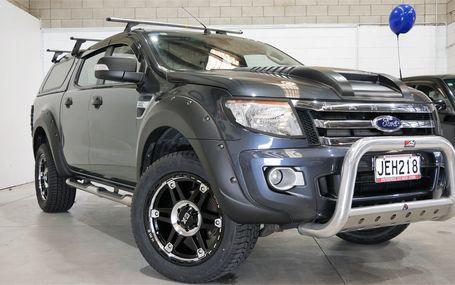 2015 Ford Ranger XLT 77,000 KMS Test Drive Form