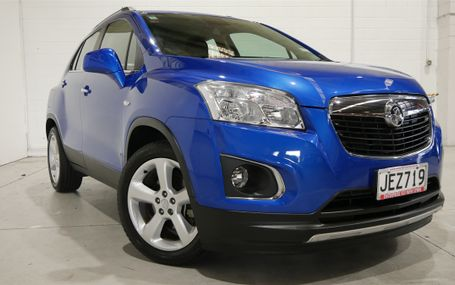 2015 HOLDEN Trax LTZ 1.4 LTZ 1.4P/6AT/SW/4DR Test Drive Form