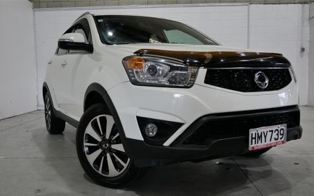 2014 SsangYong Korando LIMITED NZ NEW SUV Test Drive Form