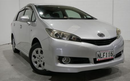 2010 Toyota Wish 1.8X 7 SEATER Test Drive Form