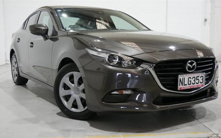 2018 Mazda Axela 15C 31,000 KMS Test Drive Form
