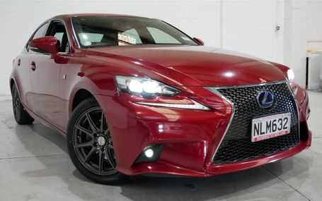 2013 Lexus IS 300H F SPORT HYBRID Test Drive Form