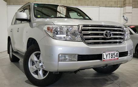 2007 Toyota Land Cruiser VX 108,000 KMS Test Drive Form