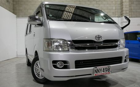 2008 Toyota Hiace 10 SEATER Test Drive Form
