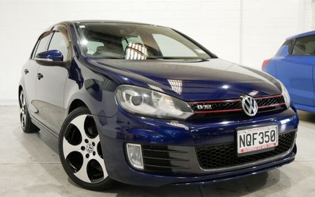 2012 Volkswagen Golf GTI 12 AIRBAGS Test Drive Form