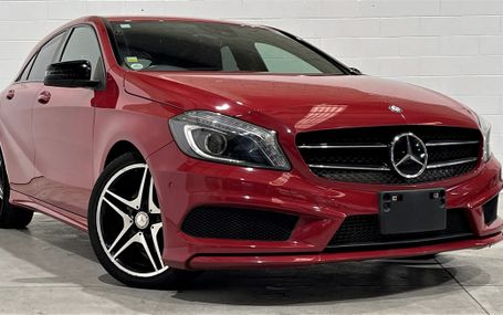 2013 Mercedes-Benz A 180 SPORTS NIGHT PACKAGE Test Drive Form