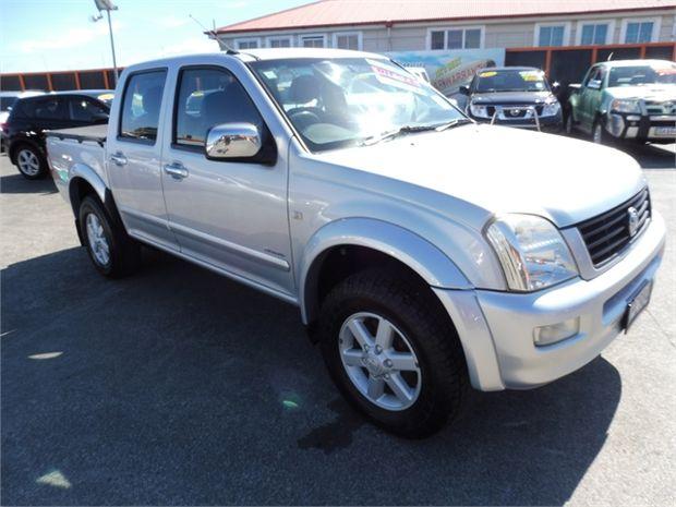 2003 Holden Rodeo 4X2 LT CREW PU 3.0 M