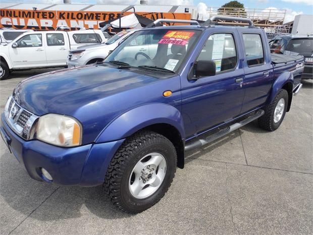2003 Nissan Navara 3.0 4WD D/C W/S VENT