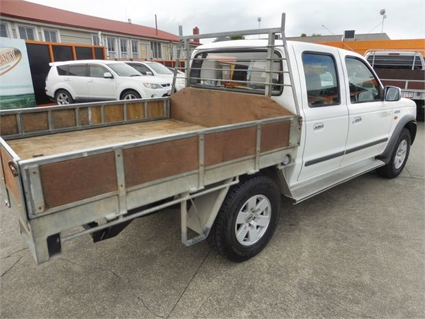 2003 Ford Courier XLX 2.5TD CREW 4X4