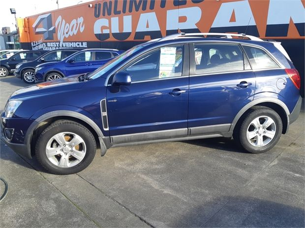 2012 Holden Captiva 5 AWD DSL 2.2 AT