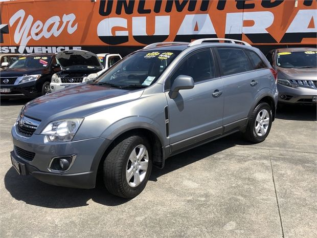 2012 Holden Captiva 5 AWD DSL AT