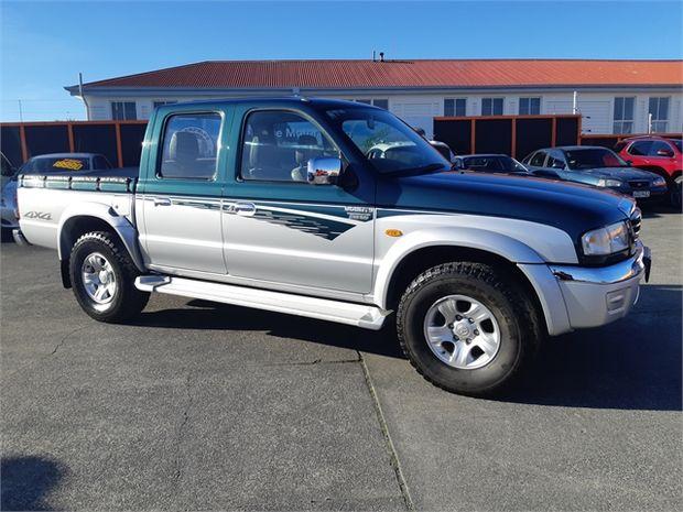 2003 Mazda Bounty DBL CAB W/S 4X4 TD