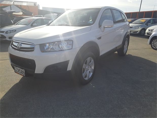 2013 Holden Captiva 7 SX 2WD 2.4 AT