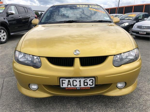 2002 Holden SS VU UTILITY AUTO