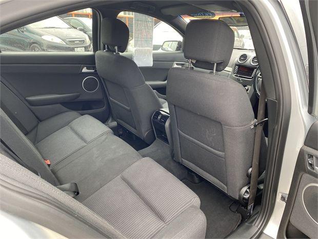 2011 Holden Commodore SV6 SEDAN AT