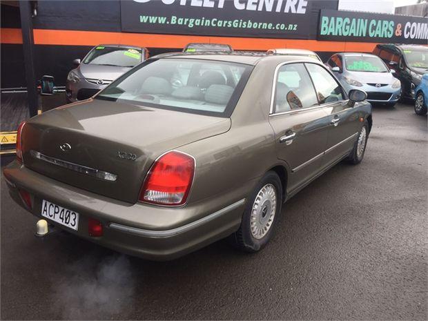 2001 Hyundai Grandeur XG 3.0 V6 4D A5