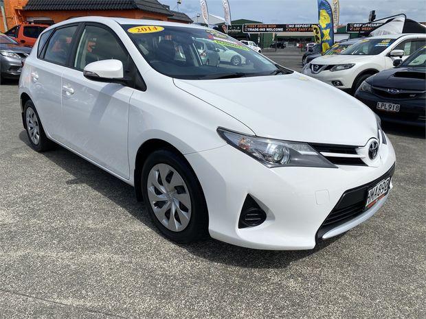 2014 Toyota Corolla GX 1.8P HATCH 6M