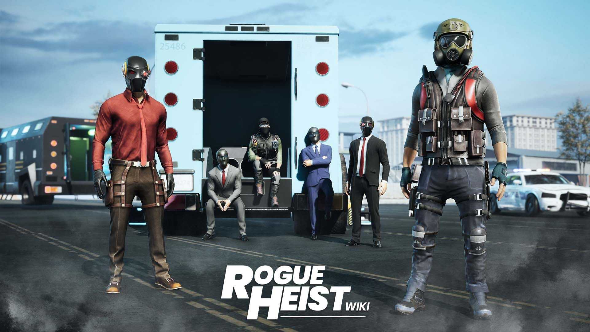 Rogue Heist Now Available