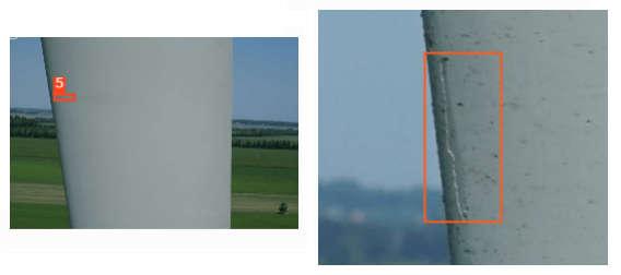 LE Erosion | wind turbine blade | Wind turbine inspection