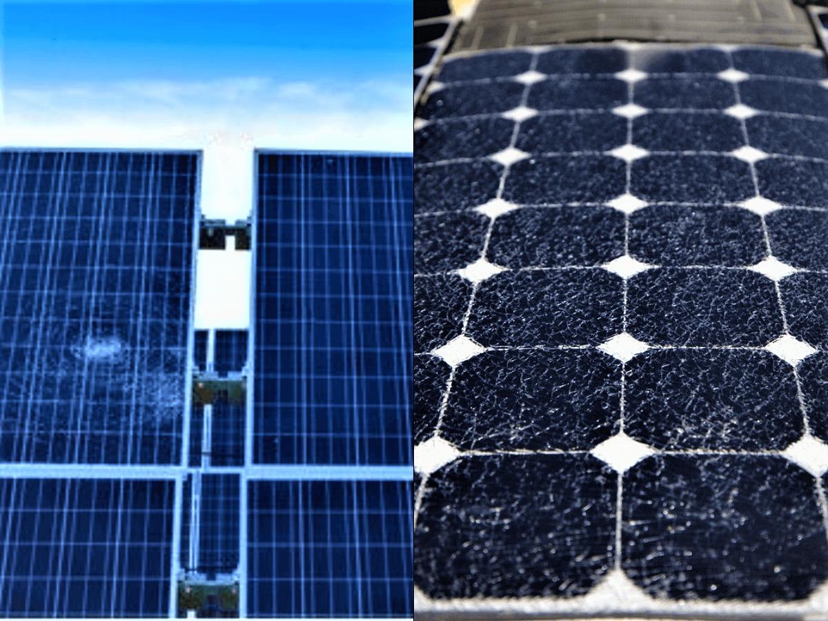 Pv cracks, pv modules, solar cells, solar panel, drone imagery