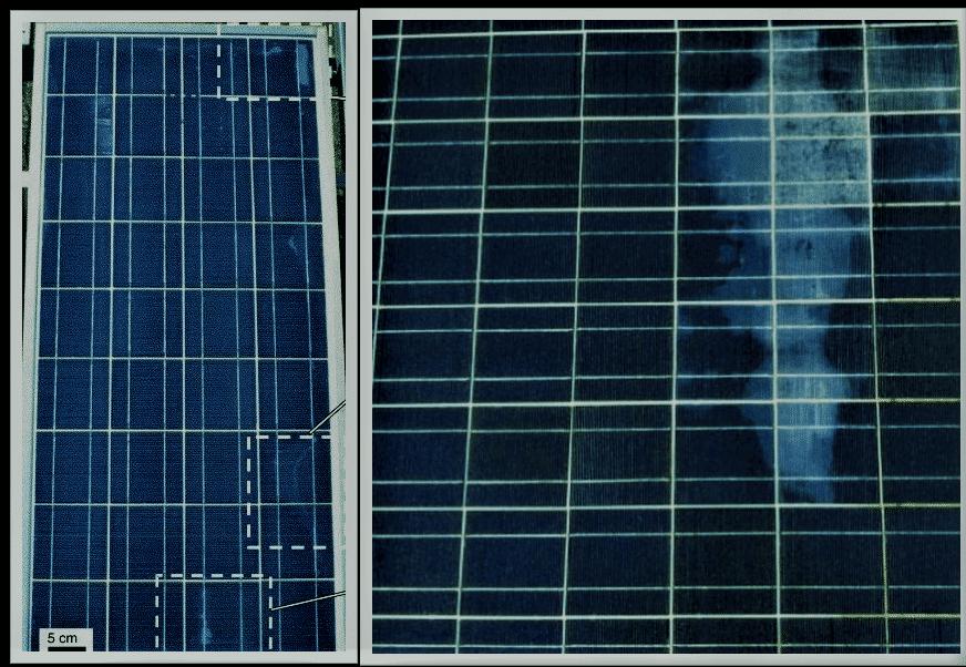 Delamination, solar panel Delamination, solar cells, photovoltaic