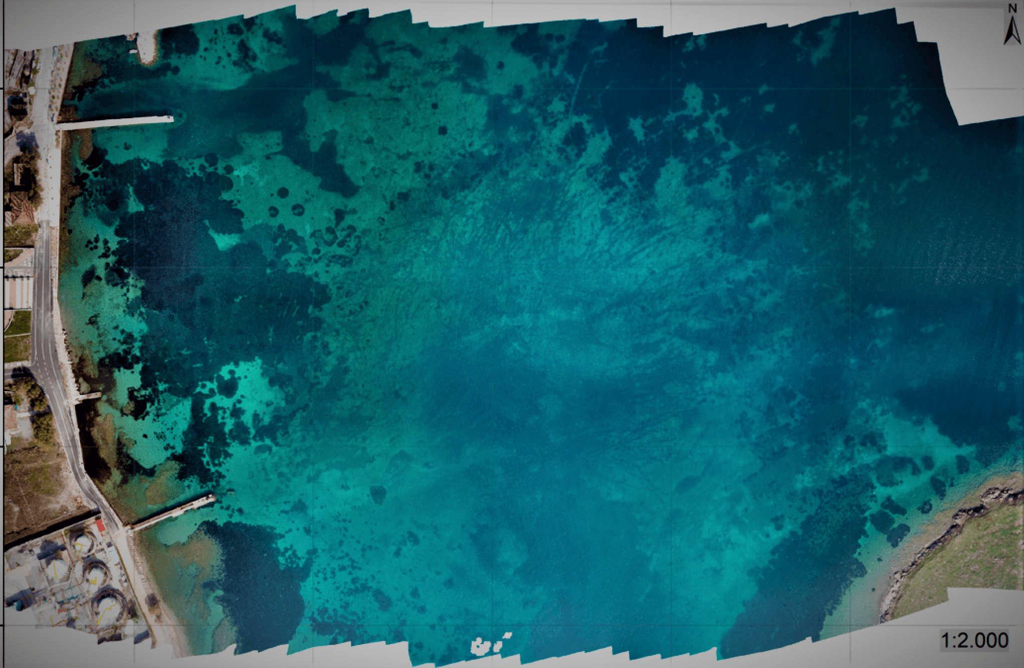 RGB Orthomosaic Map | Drones for Marine Monitoring | Marine Surveillance
