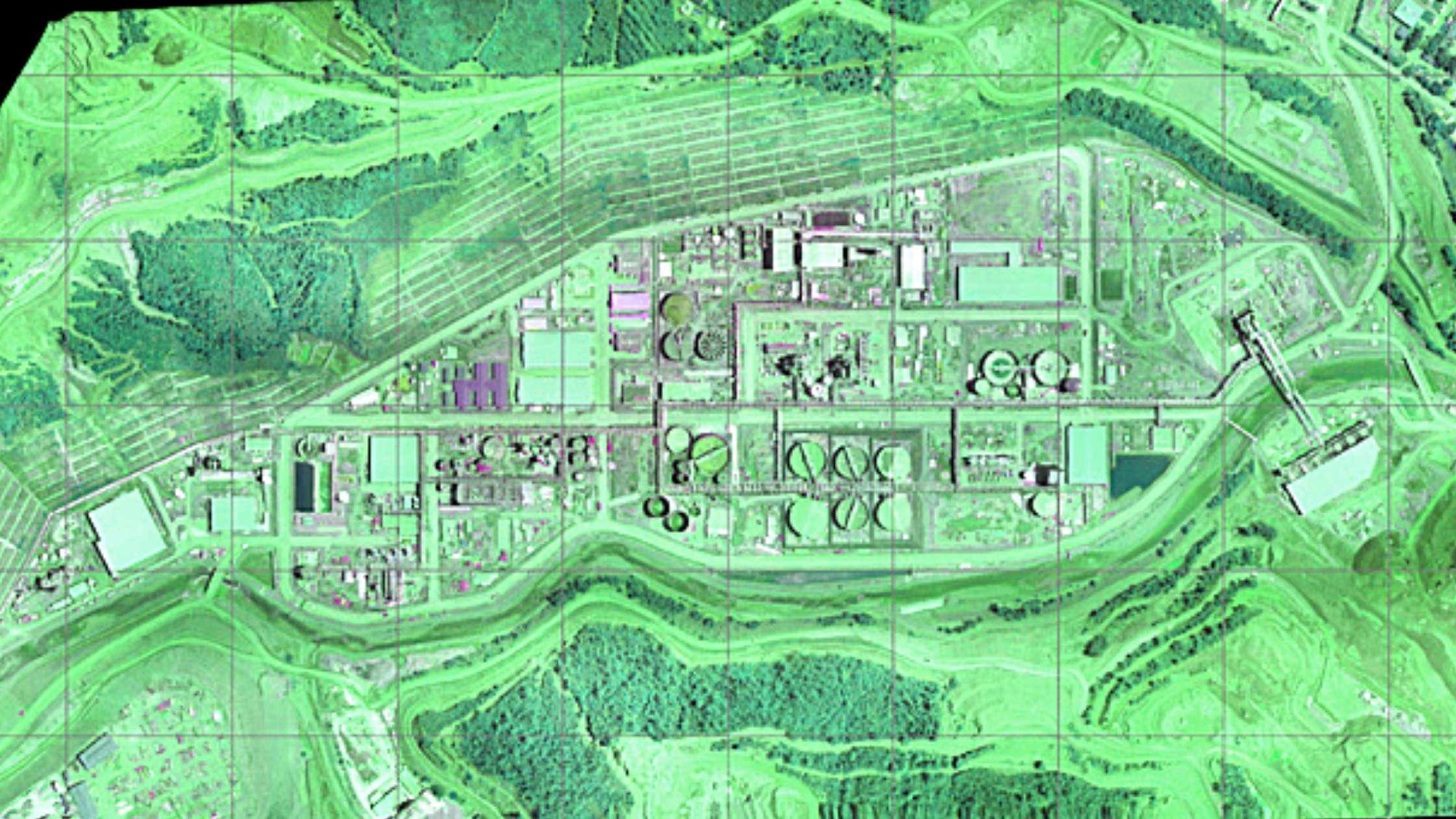 Orthomosaic Map | Mining Operation