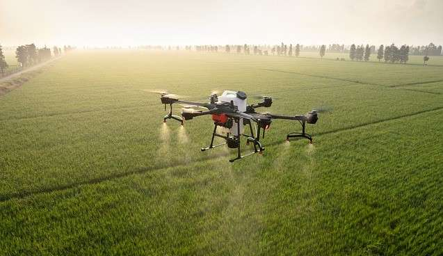 precision  agriculture, Pesticide spraying