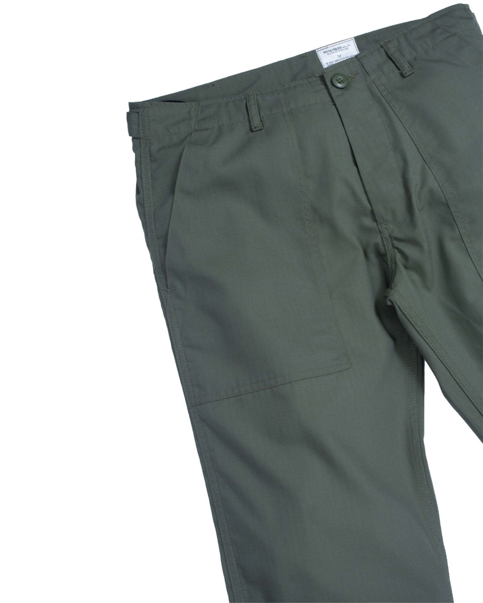 Ripstop Fatigue Pants / Olive