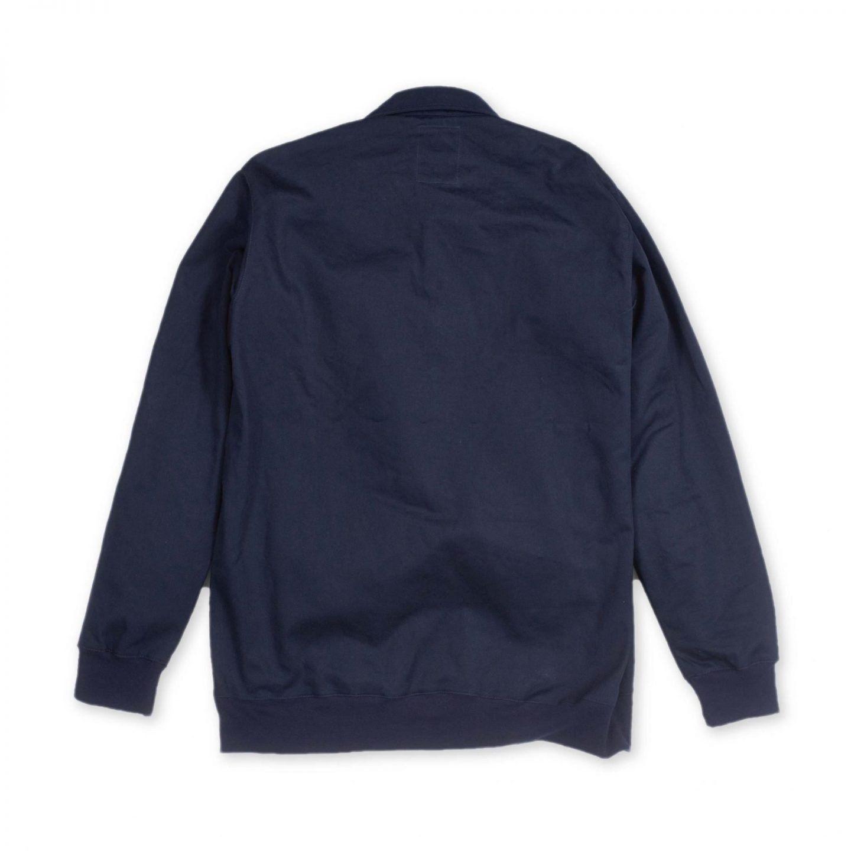 Block Pullover Overshirt