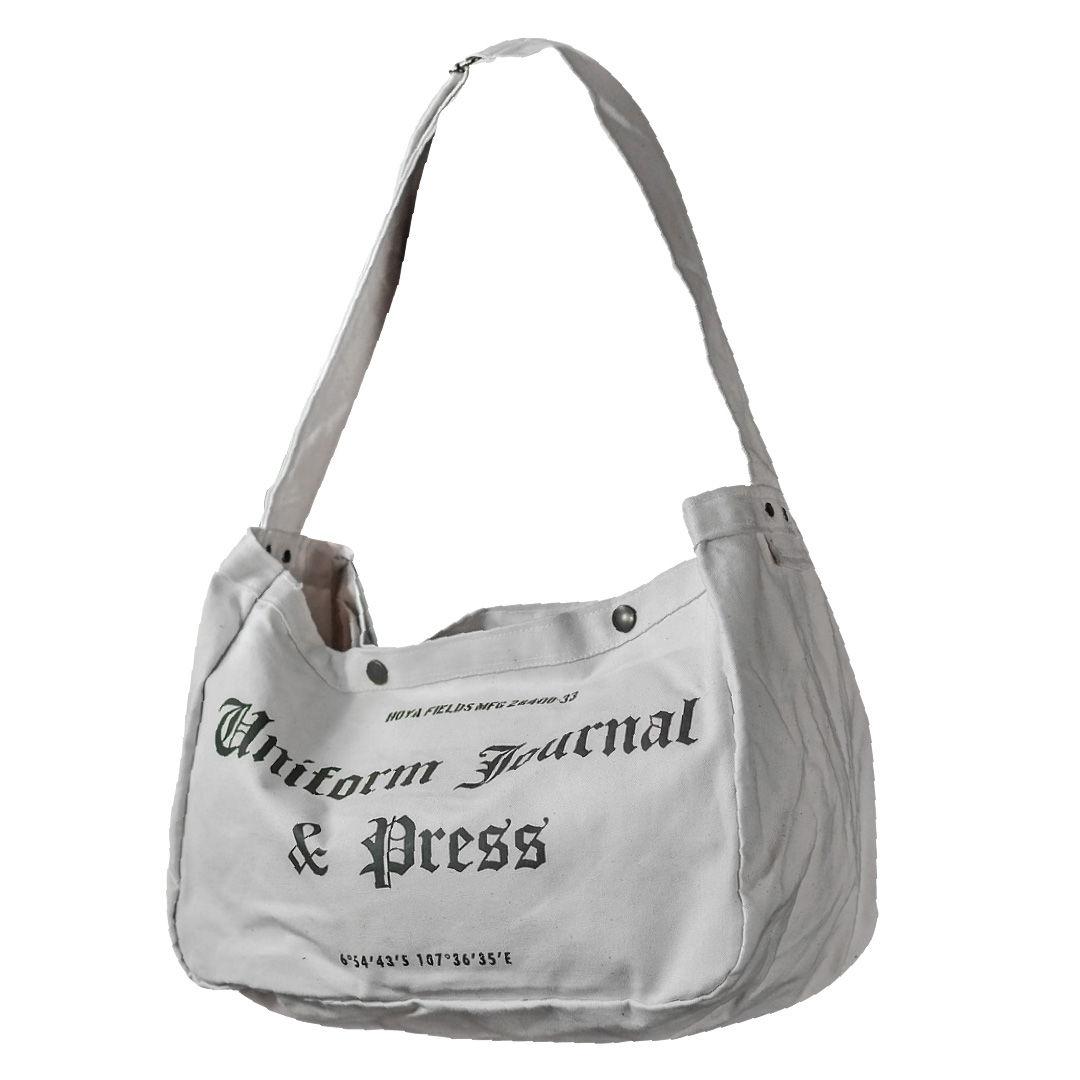 Newspaper Bag II - Beige