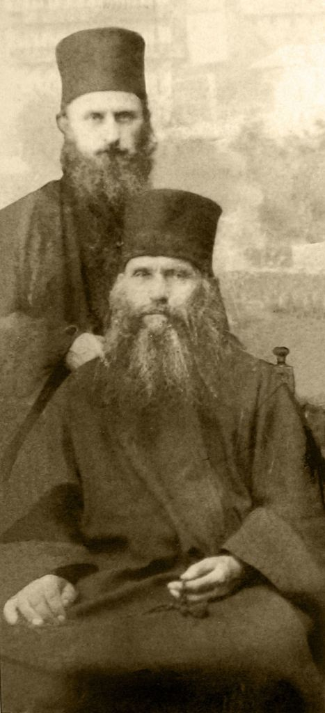 St Silouan & St Sophrony when on Mount Athos