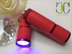 Mini LED Nail Curing Torch - Red