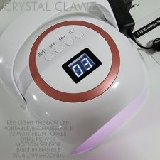 72W PROFESSIONAL Li-Ion Red Light Rechargeable LED Lamp