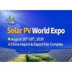 Solar PV World Expo 2020 logo