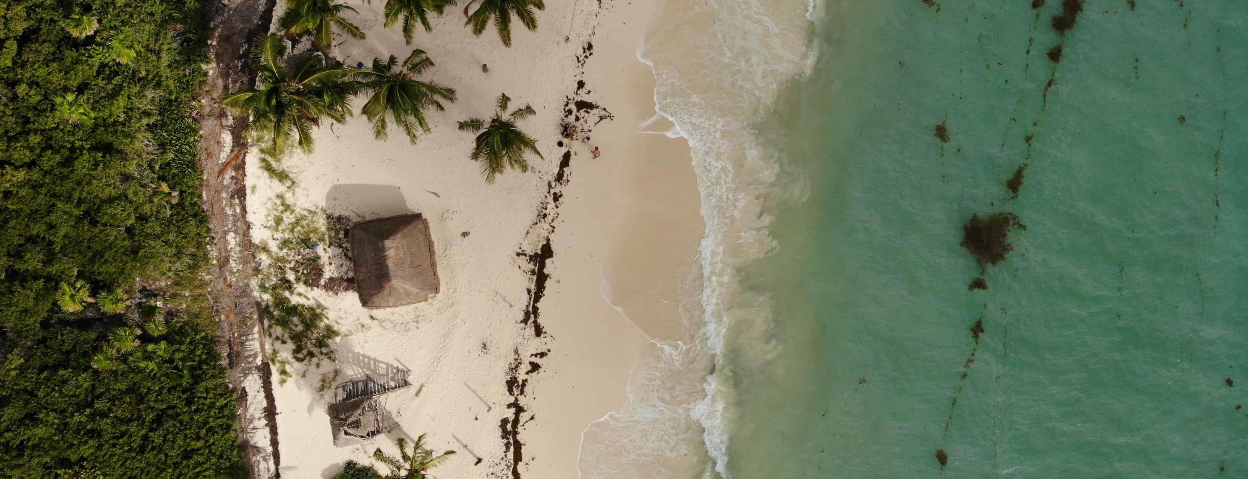 playa en la riviera maya