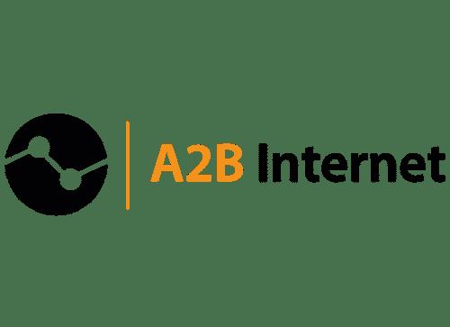 A2B internet Logo