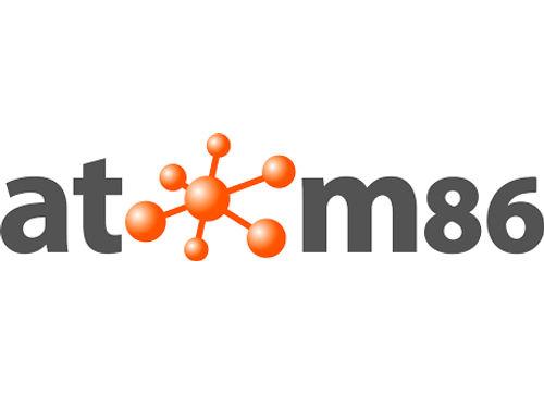 Atom86 logo