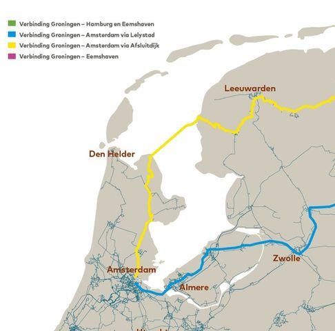 Connecties Eemshaven