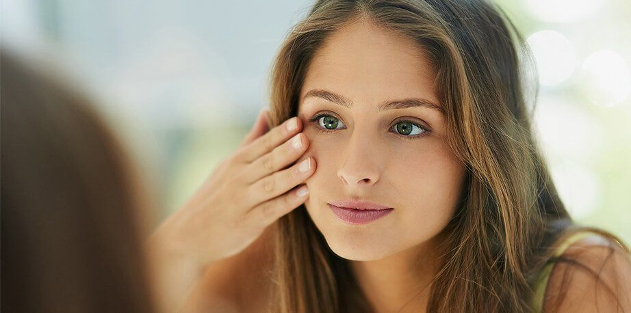 Dark circles removal